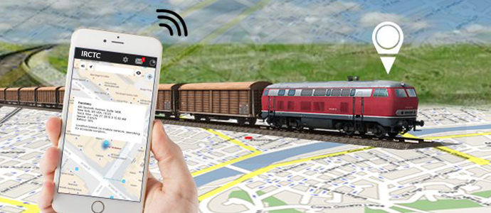Track trains in real time with GPS enabled tracking devices